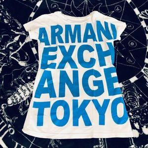 AX Armani EXchange graphic T-shirt xs